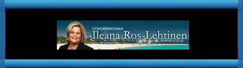 """La Congresista Ileana Ros-Lehtinen: """"Nos unimos en solidaridad con las Damas de Blanco por su dedicación a promover los Derechos Humanos y la Libertad en Cuba y por su nominacion al """"Premio Nobel de la Paz"""". http://cubademocraciayvida.org/web/folder.asp?folderID=136"""