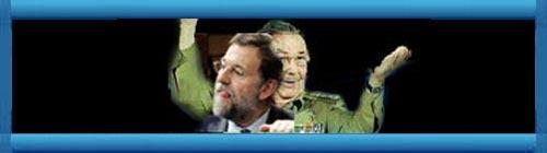 Exiliados protestan ante la sede madrile�a del PP por la visita de Garc�a-Margallo a La Habana. web/folder.asp?folderID=136