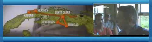 """VIDEO DOCUMENTAL: """"Los trenes del azúcar de Cuba"""". Los trenes en Cuba llegan tarde, están destartalados, y utilizan líneas ferroviarias obsoletas; sin embargo, en 1837, se construyó una de las primeras líneas circulares de ferrocarril... Por Ian Wright. cubademocraciayvida.org http://www.cubademocraciayvida.org/web/folder.asp?folderID=136"""