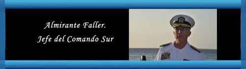 VENEZUELA: Almirante Faller, jefe del Comando Sur, visitó Curazao para discutir la seguridad regional. cubademocraciayvida.org web/folder.asp?folderID=136
