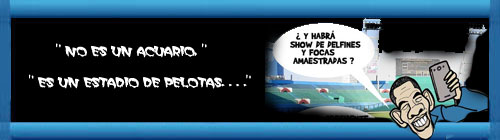 """""""NO ES UN ACUARIO, ES UN ESTADIO DE PELOTAS..."""" Por Alfredo Pong. cubademocraciayvida.org web/folder.asp?folderID=136"""