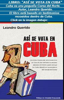 """Libro: """"ASÍ  SE VOTA EN CUBA"""": Cuba es una pequeña Corea del Norte. Dijo el autor del libro Leandro Querido."""