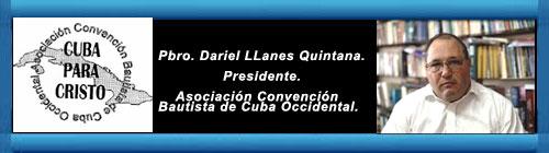 La Asociación Convención Bautista de Cuba Occidental, una de las 7 denominaciones que constituyeron la Alianza de Iglesias Evangélicas de Cuba (AIEC) anuncia que se retira de esta coalición de iglesias. Por el Pbro. Dariel LLanes Quintana. cubademocraciayvida.org web/folder.asp?folderID=136