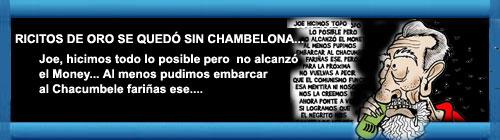 RICITOS DE ORO SE QUEDÓ SIN CHAMBELONA... Por Alfredo Pong. cubademocraciayvida.org web/folder.asp?folderID=136