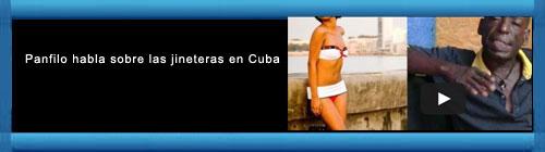 """VIDEO: El verdadero """"Pánfilo"""" habla sobre Jineteras en Cuba. cubademocraciayvida.org  web/folder.asp?folderID=136"""