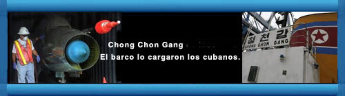 Panam� intent� vender a Hollywood los MIG de propiedad cubana hallados en el Chong Chon Gang. El arsenal era transportado de Cuba a Corea del Norte violando sanciones del Consejo de Seguridad de la ONU a Pyongyang por su programa nuclear. cubademocraciayvida.org  web/folder.asp?folderID=136