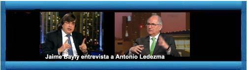 Venezuela Video Jaime Bayly Entrevista Antonio Ledezma Cuba Democracia Y Vida Jaime bayly entrevista al candidato presidencial de venezuela hugo chavez en el año 1998. venezuela video jaime bayly entrevista antonio ledezma cuba democracia y vida