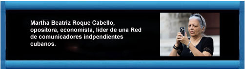 """Artículo enviado desde Cuba por Martha B. Roque a CDV.ORG: """"Para una acción, varias opiniones"""". Por Martha Beatriz Roque Cabello. cubademocraciayvida.org web/folder.asp?folderID=136"""