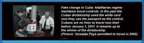 The totalitarian regime of cuba