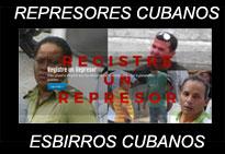 Cuba: PÁGINA PARA REGISTRAR A LOS REPRESORES O ESBIRROS DE LA TIRANÍA DE LOS CASTRO.