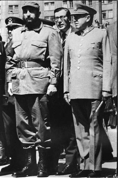 La Admiracion De Fidel Castro Por Pinochet Hizo Una Confesion Expreso Su Admiracion Por Pinochet Dijo