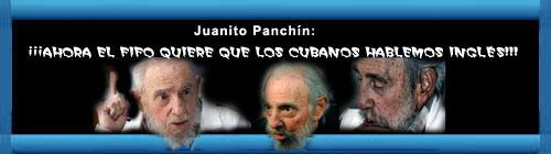 """""""AHORA EL FIFO QUIERE QUE LOS CUBANOS HABLEMOS INGLÉS"""". Por nuestro compatriota Juanito Panchín. Desde Canarias España. cubademocraciayvida.org web/folder.asp?folderID=136"""