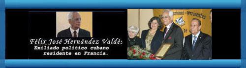 Mis palabras al recibir el Premio Internacional de la Prensa en Miami. Por Félix José Hernández.       cubademocraciayvida.org                                                                                        web/folder.asp?folderID=136